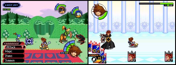 Kingdom Hearts 2D 1.5 ReMIX Mock-ups 5-6 by FieryExplosion