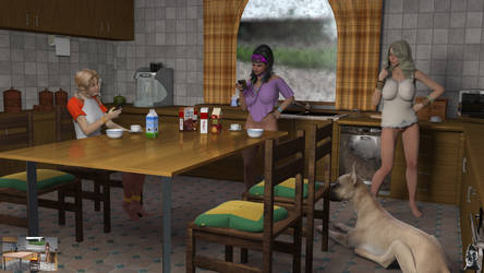 breakfast at Sams by GafftheHorse