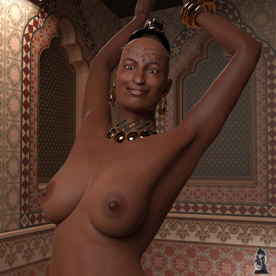 V3 Shahara exotic dancer by GafftheHorse