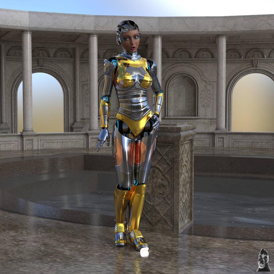 Robot2 Aikobot in Awe by GafftheHorse