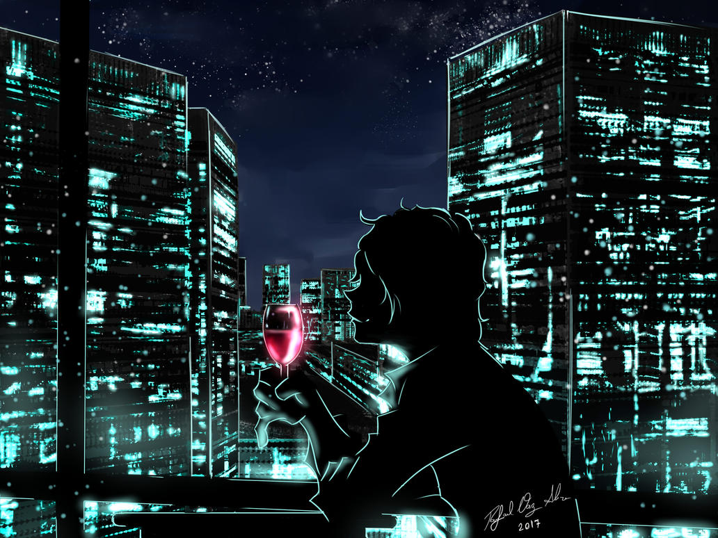 Silence of Friday Night by sorvetaum