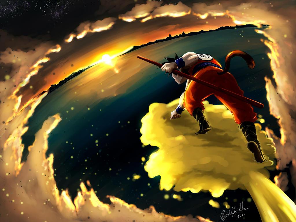 Dragon Ball by sorvetaum
