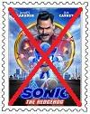 Anti Sonic Movie Stamp