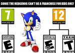Sonic should be for all ages