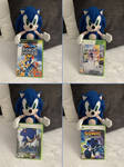 Sonic with games