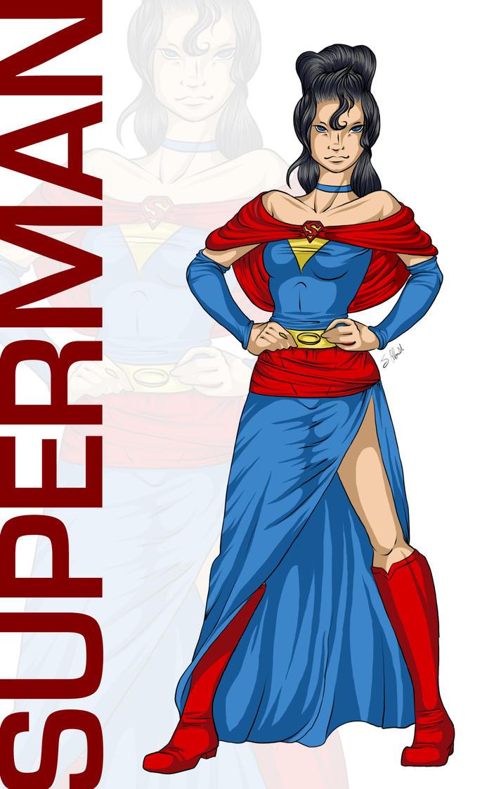 Disney Princess : Superman by vampiretigress