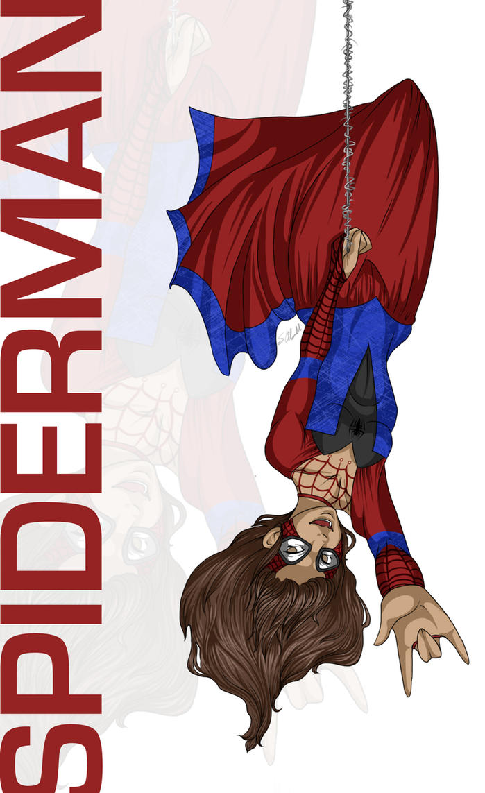 Disney Princess : Spiderman by vampiretigress