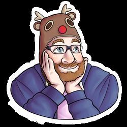 dwarf hat (transparent) by Linus-Deku