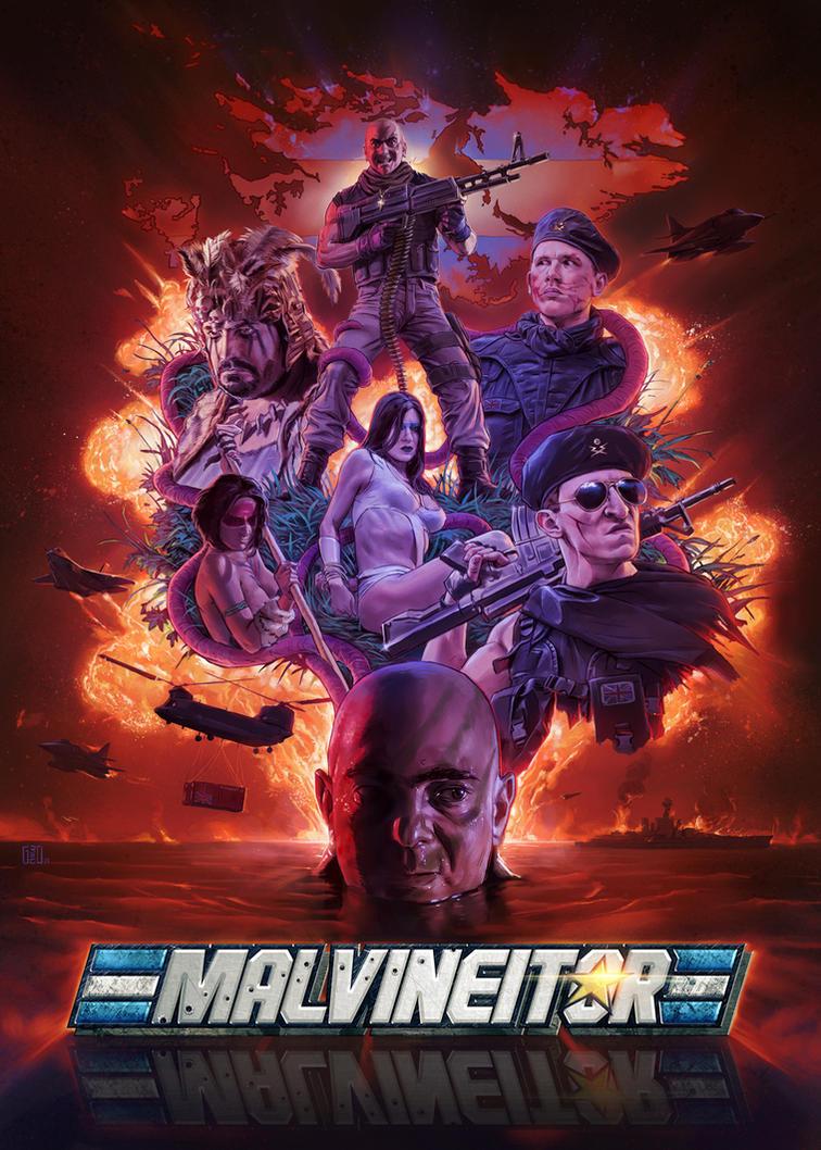 Malvineitor - Poster Art by FlavioGreco