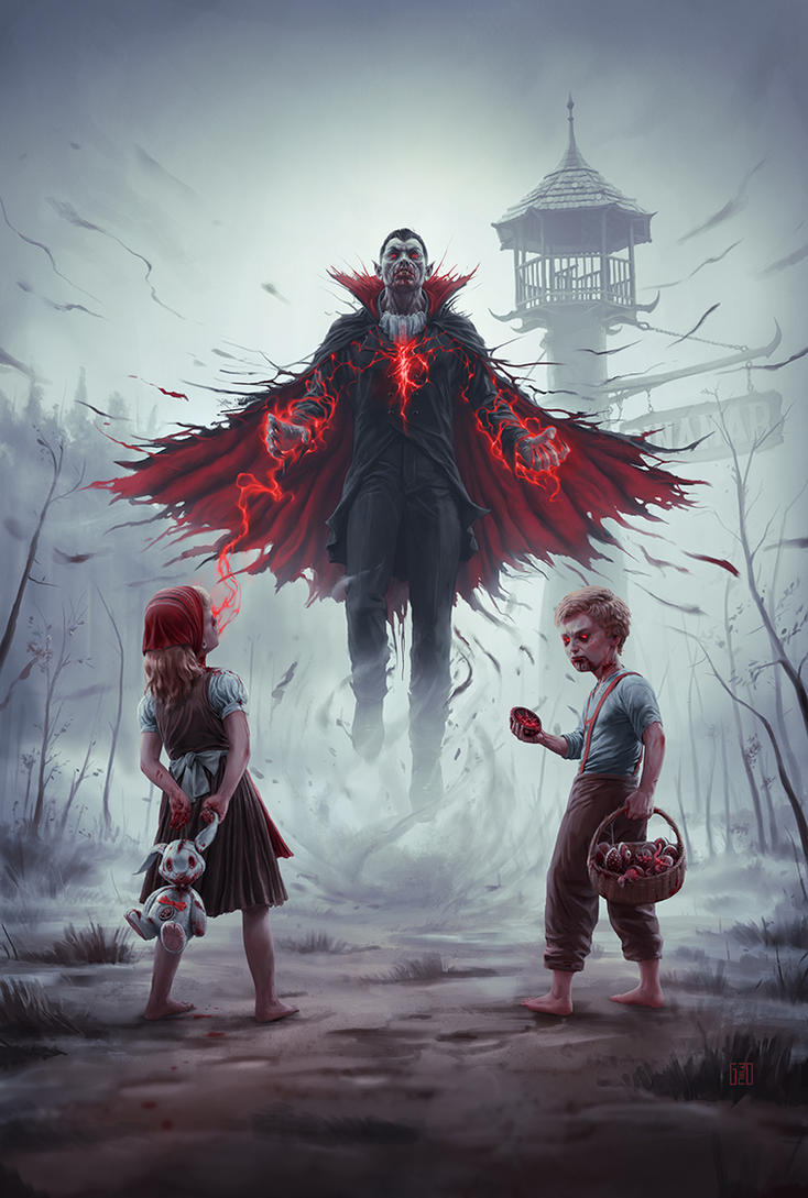 Blood Window Pinamar - Poster Art by FlavioGreco