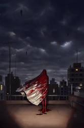 Reflejado en la Sangre - Cover Art by FlavioGreco