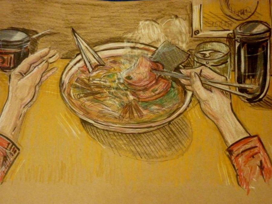 Ramyun time by ArtistLook