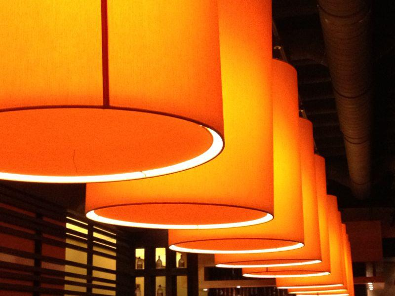 Orange Lamps By Swasha ...