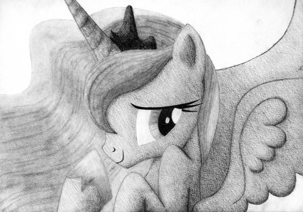 Princess Luna - Oops! by YoMilbert