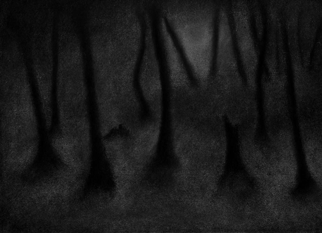 The Trees Bore Their Withered Silhouettes v2 by YoMilbert