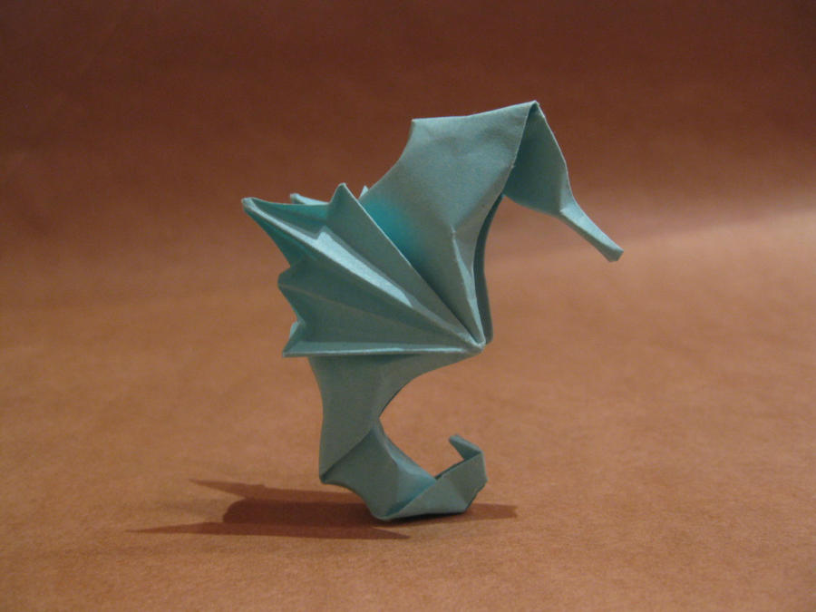 Origami Seahorse By Orimin On Deviantart