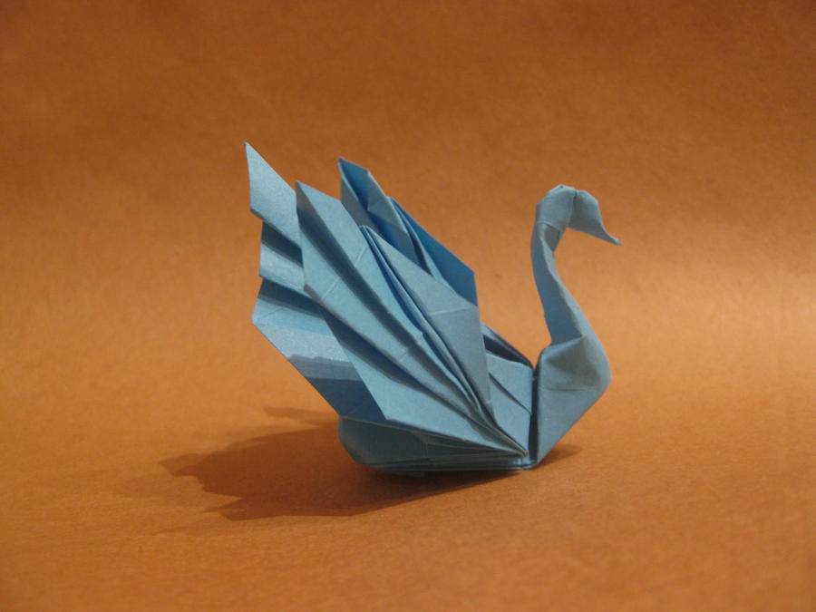 Origami Swan By Orimin On Deviantart