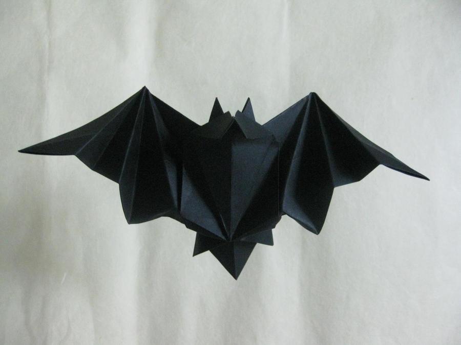 origami bat by orimin on deviantart