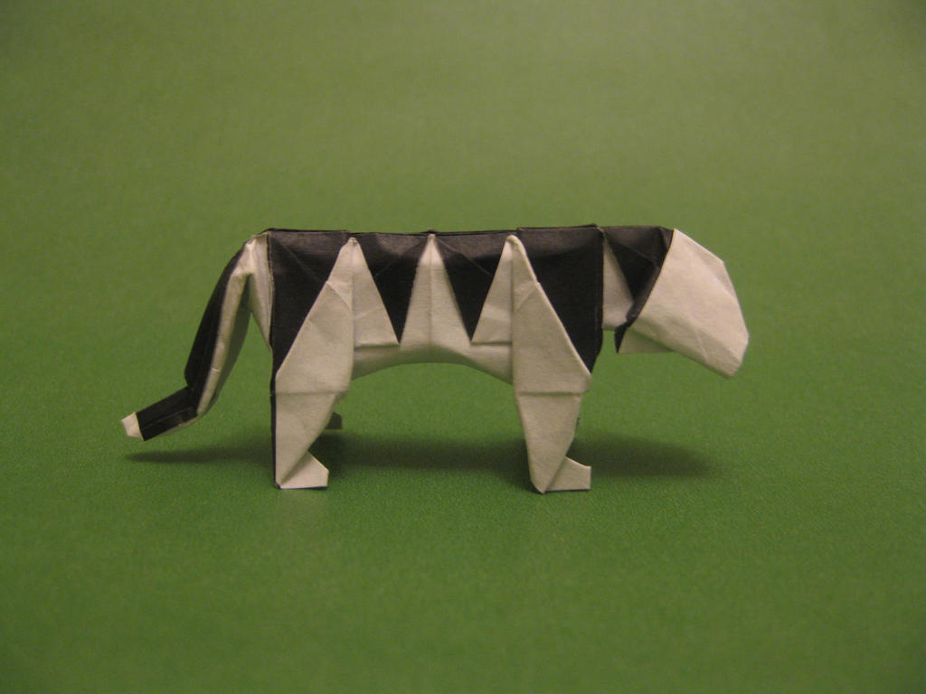 Origami Tiger By Orimin