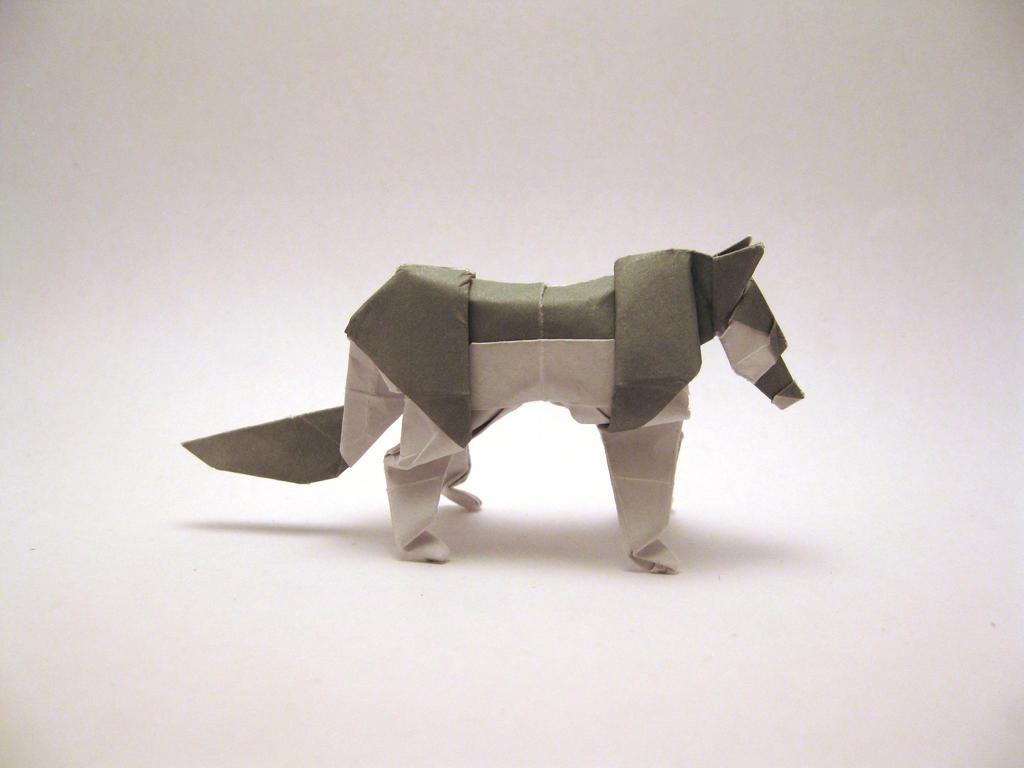 Origami Wolf By Orimin On Deviantart
