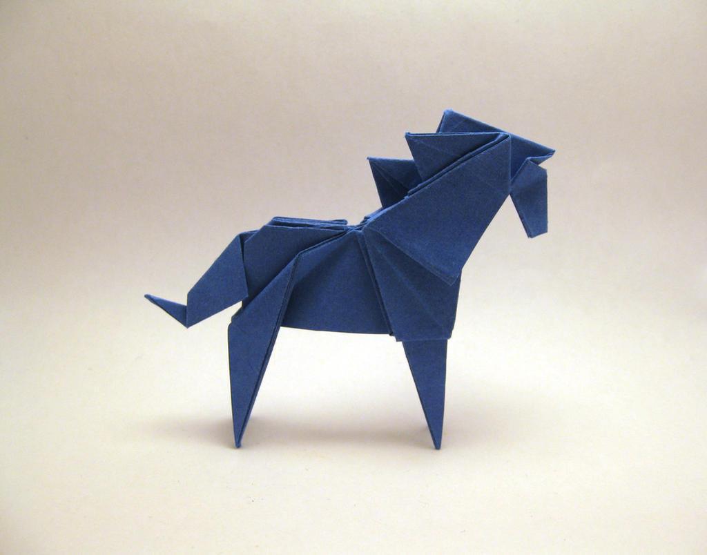Origami Horse By Orimin