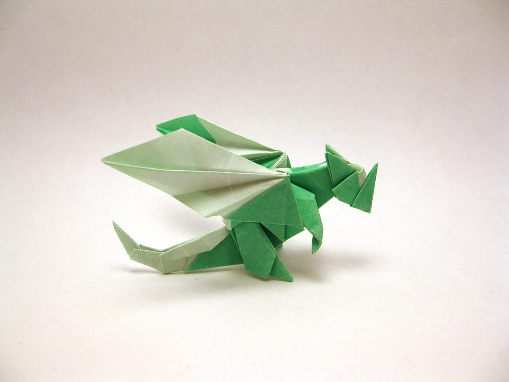 Origami. Origami dragon. Origami dinosaur. Origami dragon and ... | 768x1024