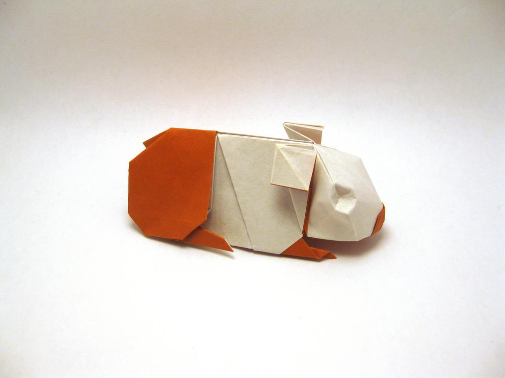 Origami Guinea Pig by orimin on DeviantArt - photo#31