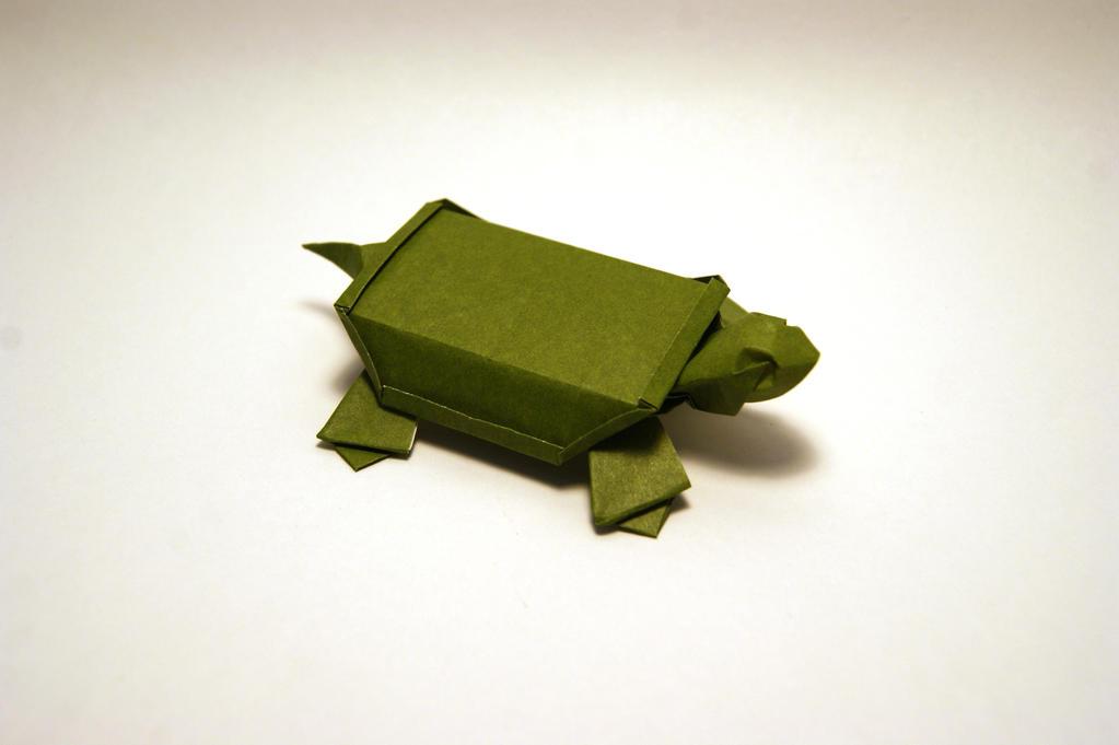 origami turtle by orimin on deviantart
