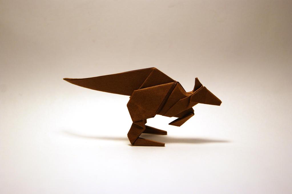 origami kangaroo by orimin on deviantart