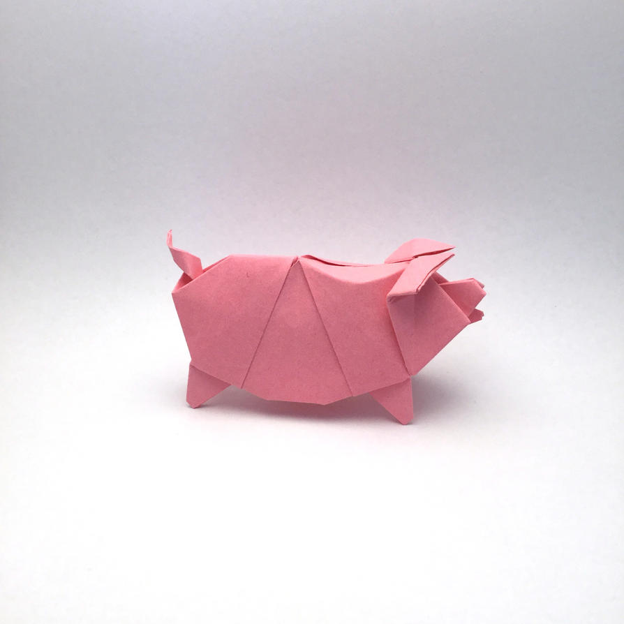 origami pig 28 images origami no 3 cuh yah crafts