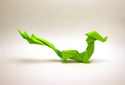 Origami Asian Dragon