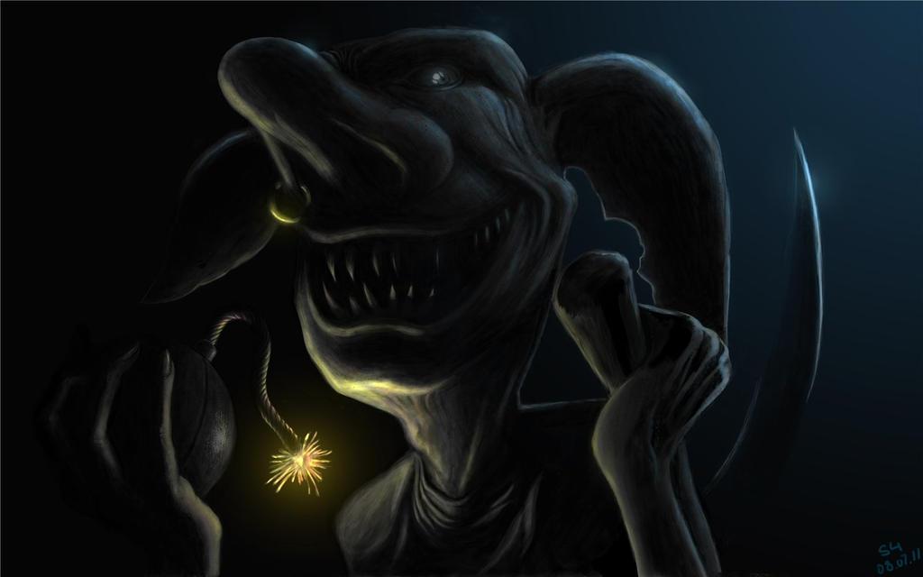 goblin by SchastnySergey