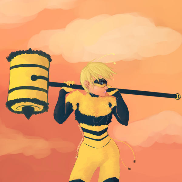 Bee Miraculous - Rose by Amberrant