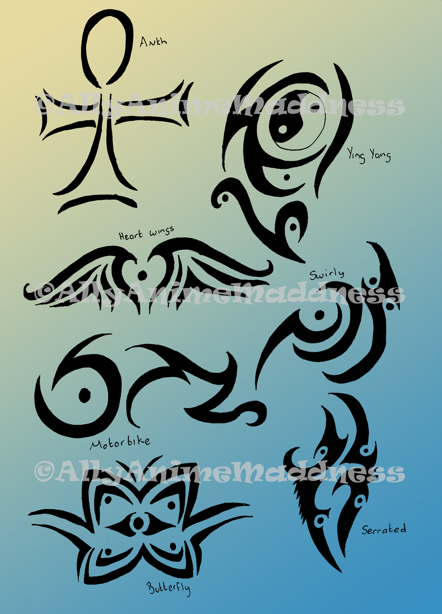 Tribal Tattoo Designs by AllyAnimeMaddness on deviantART