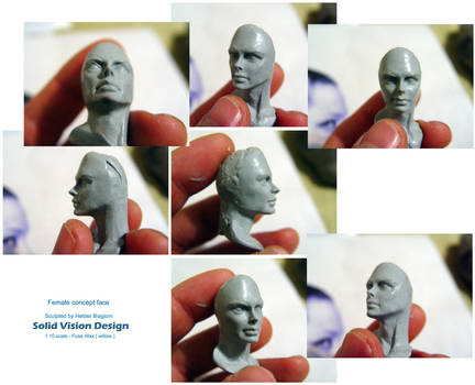 Female face - Concept