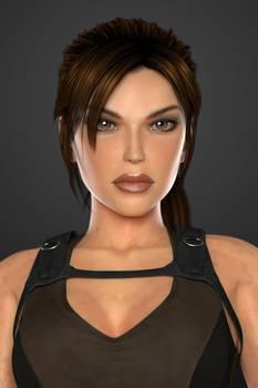 Lara Croft (Tomb Raider Underworld) - Portrait