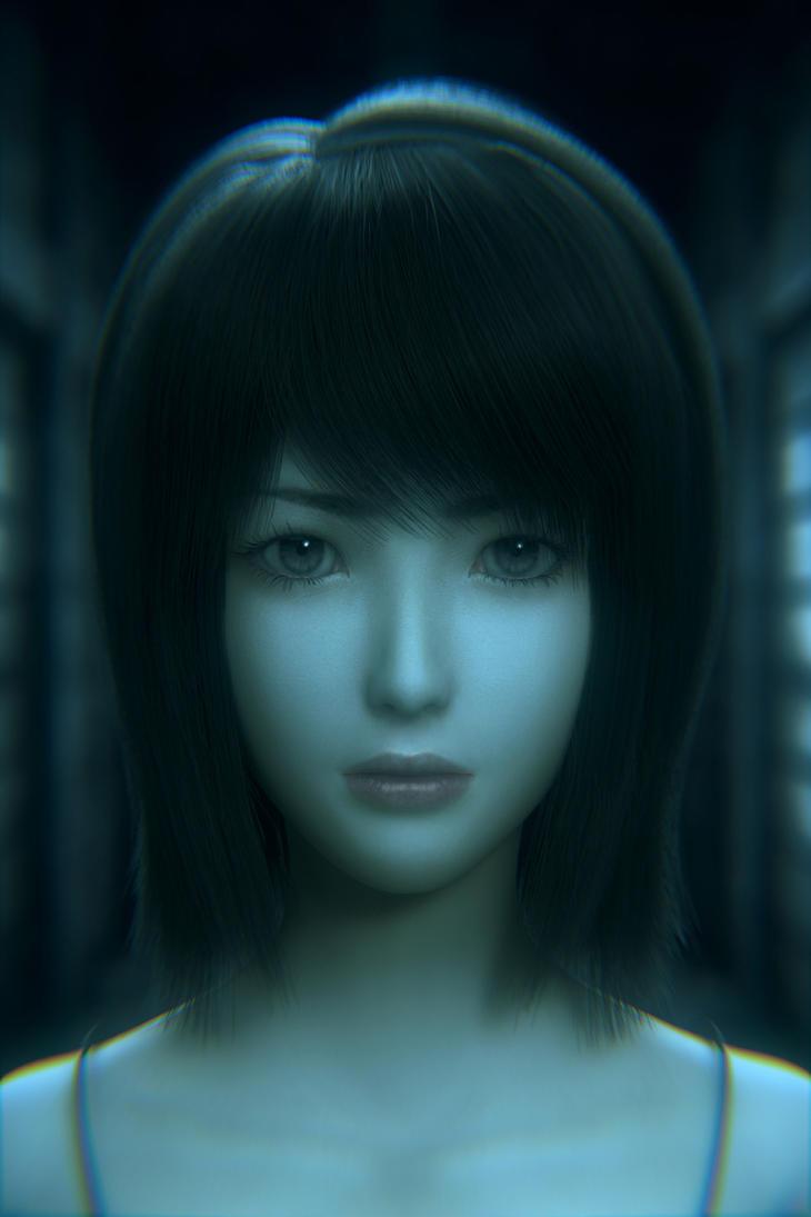Mio Amakura ~ Looking for Mayu (Portrait) by lishaoran00