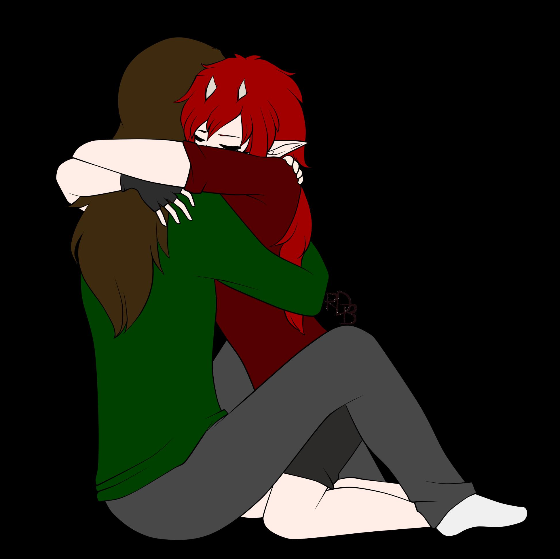 Hug me tight ok by reddeathblood on deviantart - Tight hug wallpaper ...