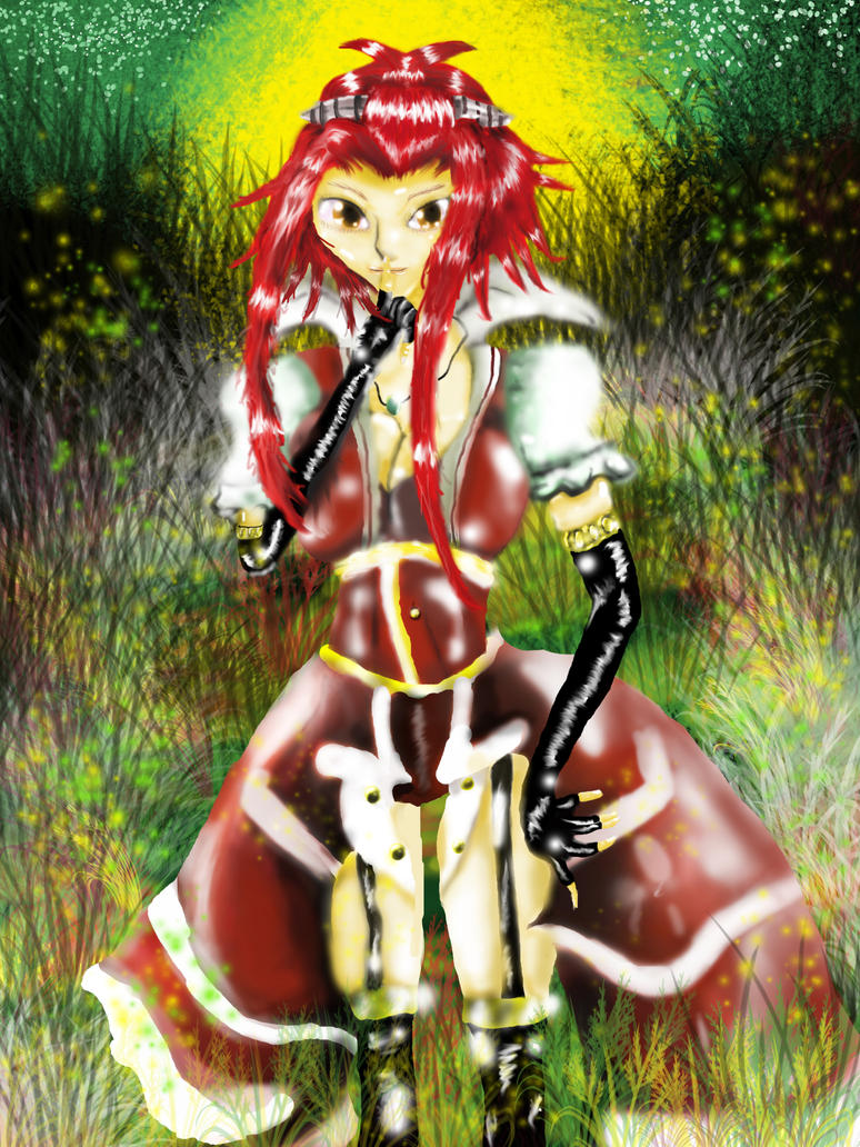 Black Rose Witch .:Color:. by chickenMASK on DeviantArt