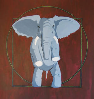 Vitruvian Elephant