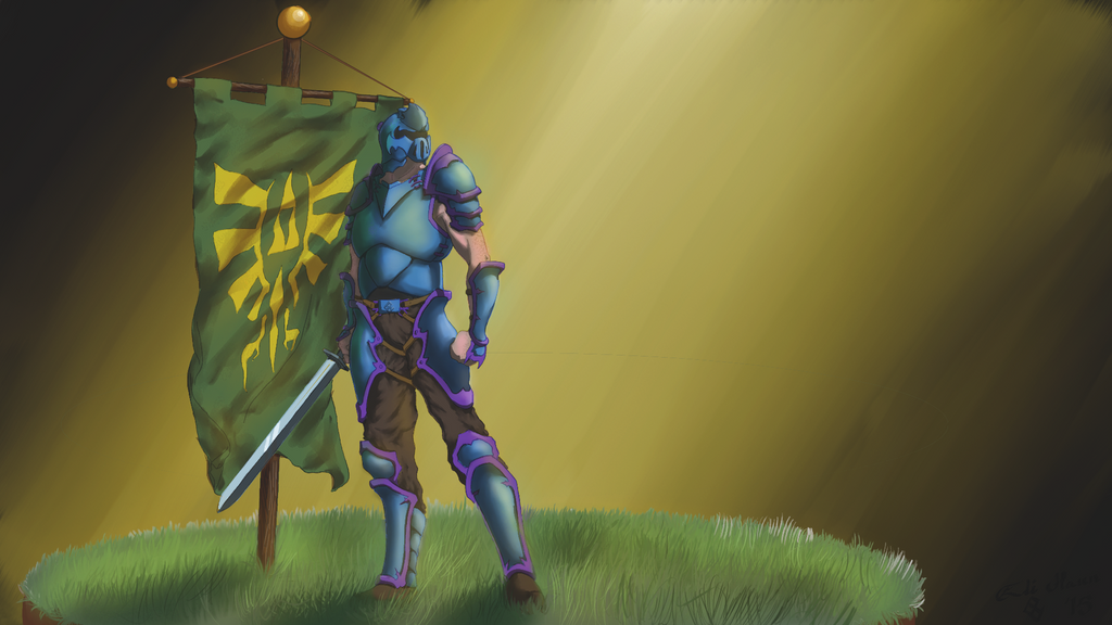 Hyrule Guard by elihaun