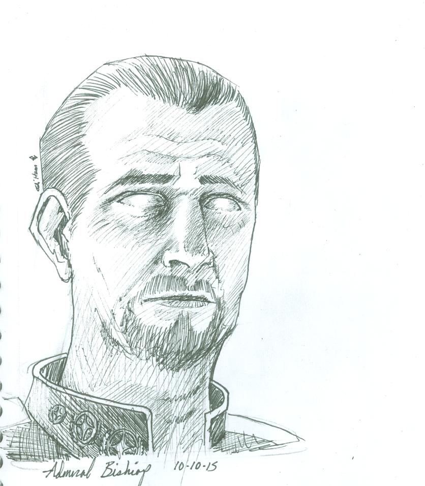 admiral Bishop ink by elihaun