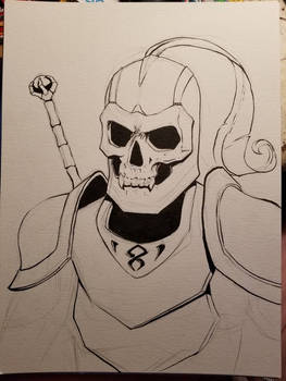 Inktober 2017: day one - dead corp
