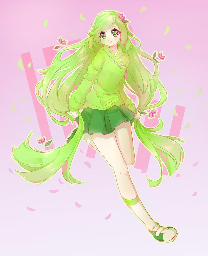 Grass Girl by luko3artist