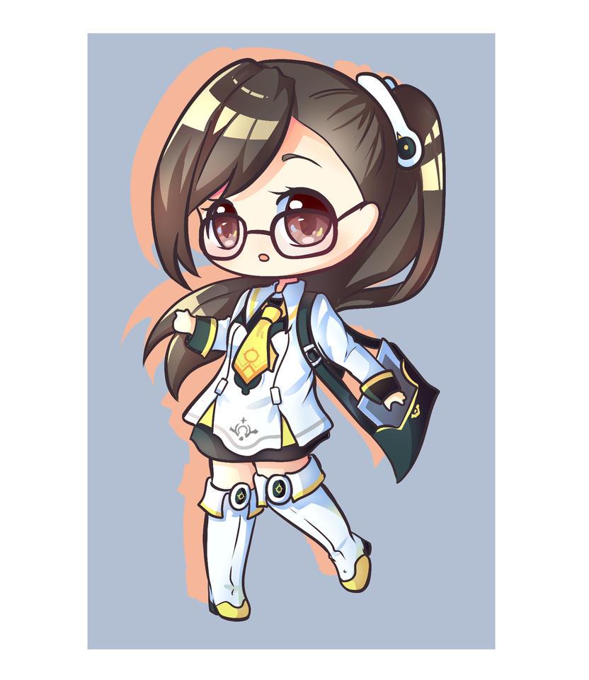 Hasumi Ren [commission] by luko3artist