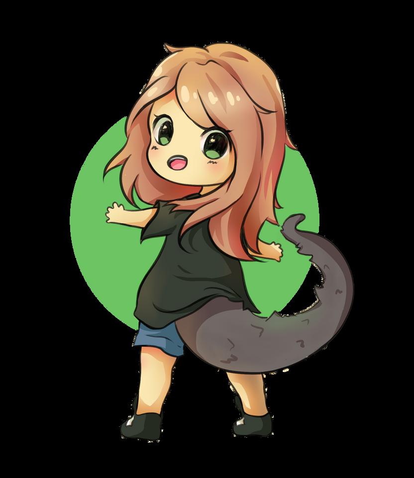 Godzilla Girl [commission] by luko3artist
