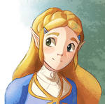 Zelda Breath of the wild fan art
