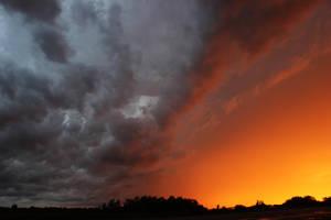 Wild Clouds over Yorkton, Sk.