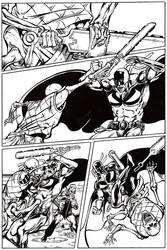 Comic Inking by ryancrouse