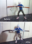 Custom Jack Frost doll